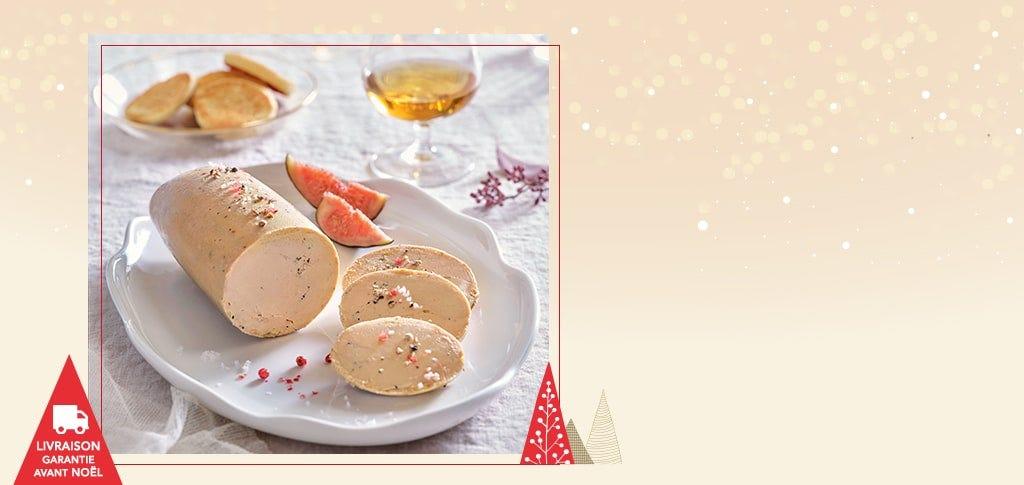 Le foie gras de canard entier mi-cuit du Sud-Ouest, à l'Armagnac